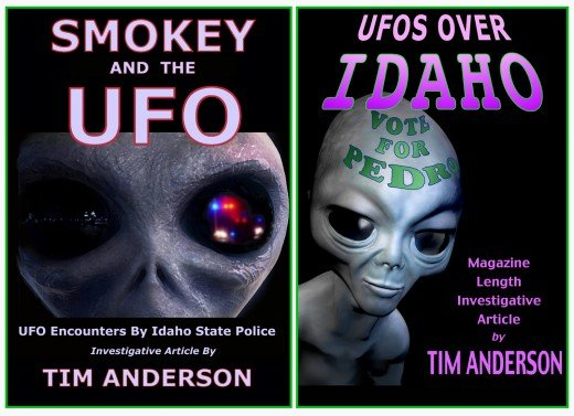 Do aliens exist?  It was a question I'd asked myself many times.  After interviewing more than a dozen Idaho law enforcement officers about their UFO sightings for two magazine articles I was writing, I became a believer.