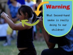Second Hand Smoke: Killing Our Children Silently