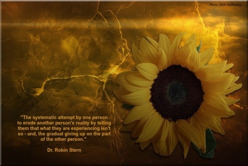 Gaslighting Quote by Dr. Robin Stern