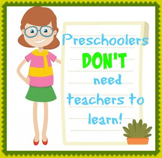 Preschoolers learn best by doing and discovering. A teacher should facilitate exploration but not set the educational agenda. Each child should construct her own.
