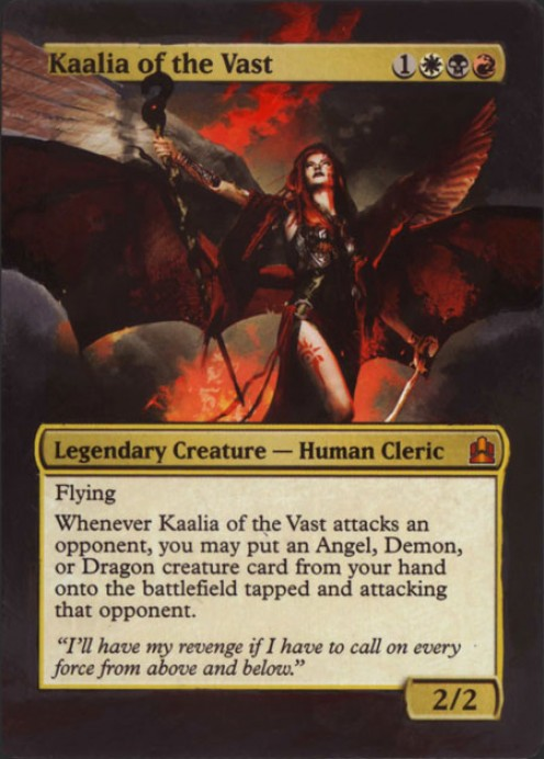 How to Build a Kaalia of the Vast Magic: The Gathering Commander Deck
