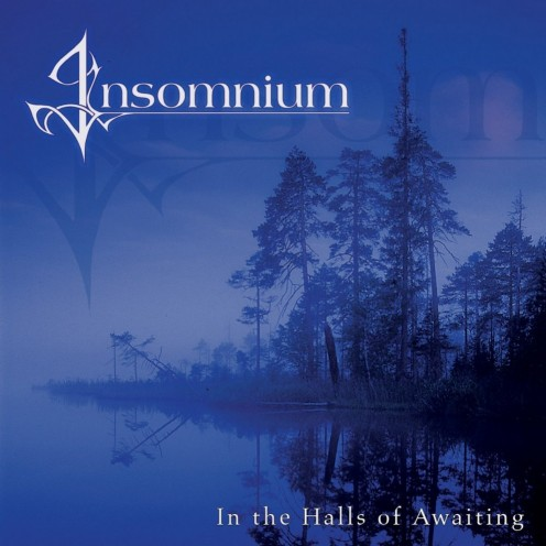 The album's cover shows a series of trees that are near a large lake.