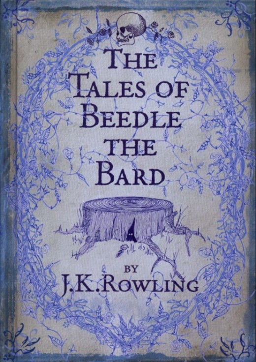 The Tales of Beedle the Bard by J.K. Rowling Canadian Edition.