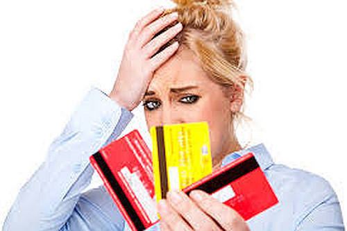 It is a terrible mistake to pay one credit card with another credit card.