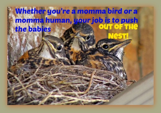 Moms and dads who act like a friend to their children don't prepare them to leave the nest.