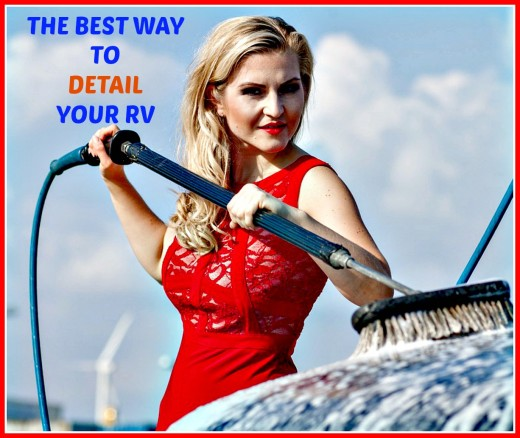 How to do a basic RV detailing job yourself using the easiest possible methods and materials.