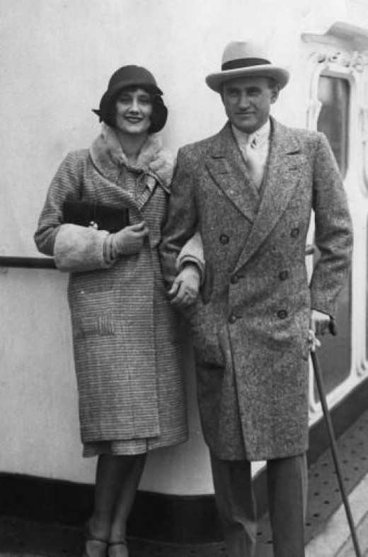 Sam and Frances Goldwyn