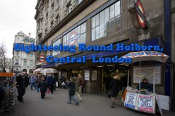 Sightseeing Round Holborn, Central London