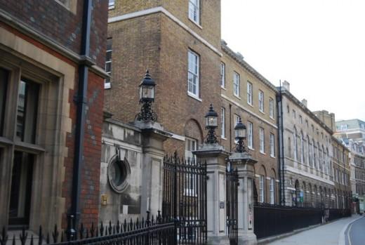 Listed Railings, Chancery Lane