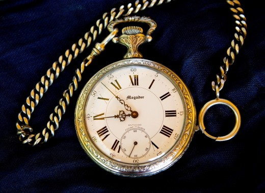 Is your antique pocket watch treasure or trash? A gold assay test will find out.