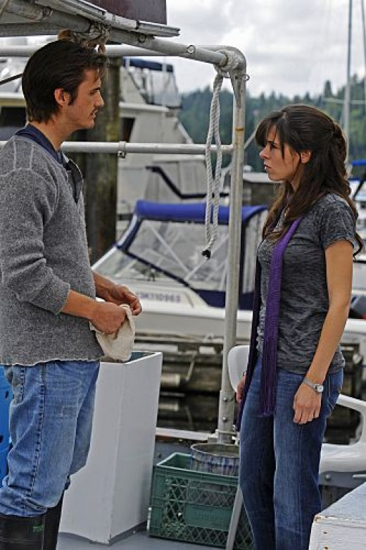 Jimmy and Abby on Harper's Island
