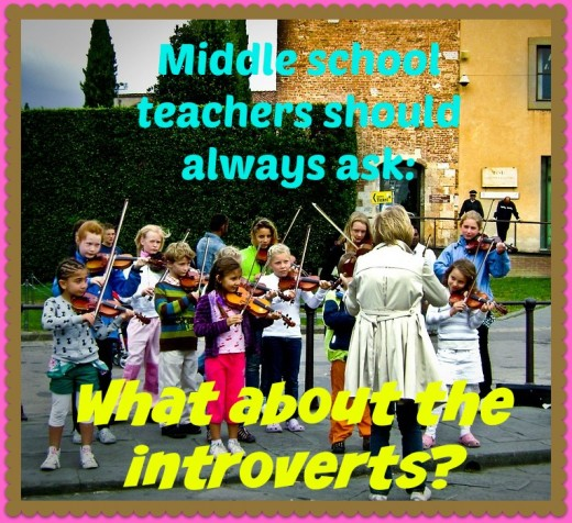 "When planning lessons and activities at middle school, teachers and administrators should ask: ""What about the introverts?"""