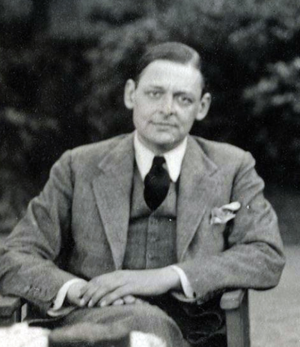 T. S. Eliot, poet and Thanet writer