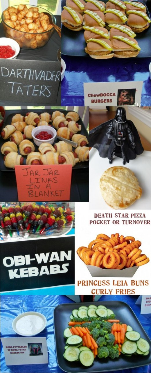 Star Wars themed snacks add to the excitement at parties and events.