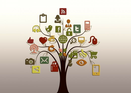Social media is a tool for growing your online presence.