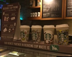 With Reusable Coffee Cups to a Greener Future
