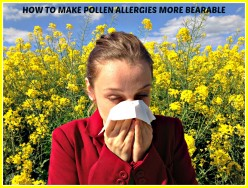 How to Make Pollen Allergies More Bearable