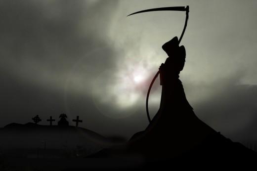 the grim reaper (artist depiction)