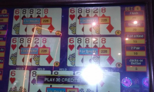 Dealt Quick Quads at IP, Biloxi, MS