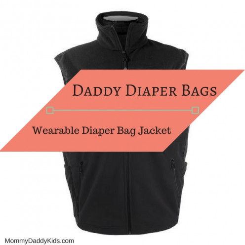 Wearable Diaper Bag Jacket