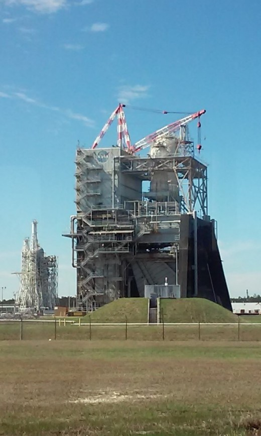 Testing Structure, Stennis Space Center, Pearlington, MS