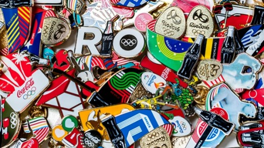 Coca-Cola produced 98 original pin badges to commemorate the Rio 2016 Olympic and Paralympic Games.