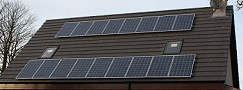 My 4KW solar installation