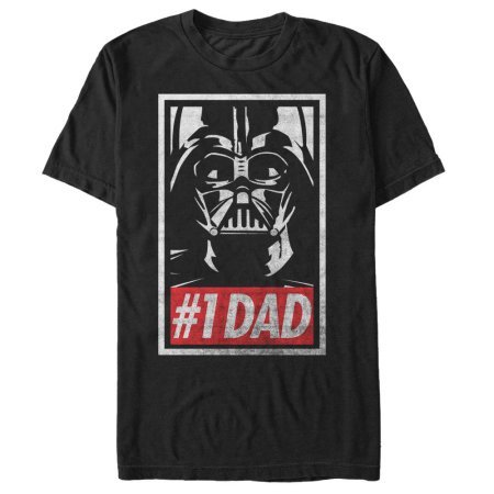 Darth Vader #1 Dad Tee Shirt