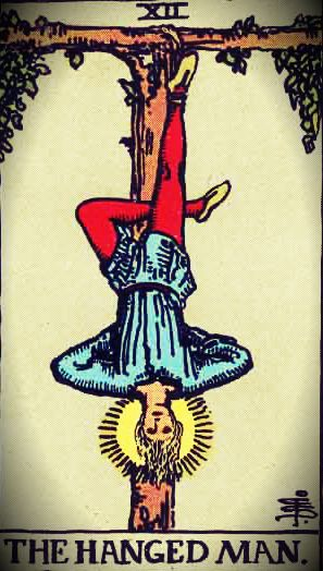 The Hanged Man. Rider Waite Tarot Deck. The Sense of Smell
