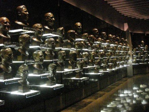 NFL Hall of Fame Busts