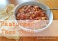 The Best Ever Crock Pot Taco Soup