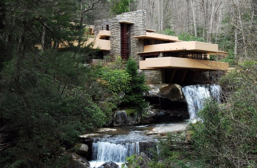 Falling Water house.