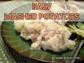 Easy Peasy Homemade Mashed Potatoes