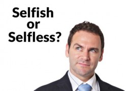 7 Signs that a Person Is Selfishness