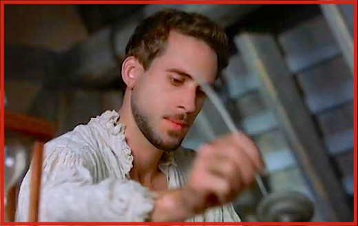 "Actor Joseph Fiennes played Shakespeare in the Academy Award-winning movie, ""Shakespeare in Love."""