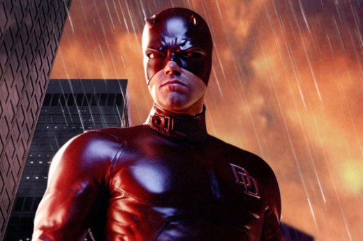 From Twentieth Century Fox.  2003's Daredevil was Fox's attempt to start a new franchise, but it was too familiar to Spiderman.  The classic origin story was a trope that haunted the genre.
