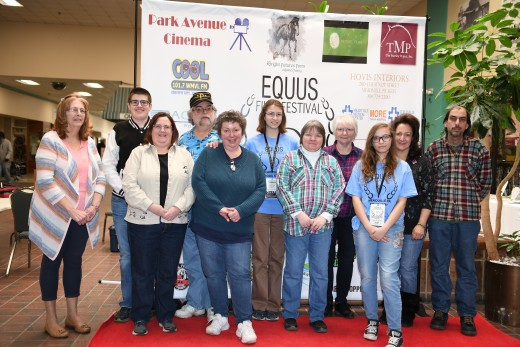 Vendors supported Kids' Day at the EQUUS Film Festival Meadville Tour Stop.