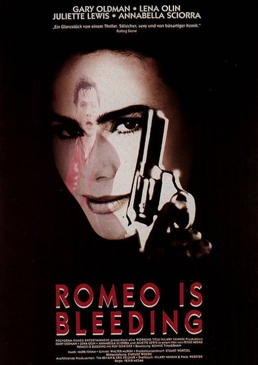 Romeo Is Bleeding Movie Poster