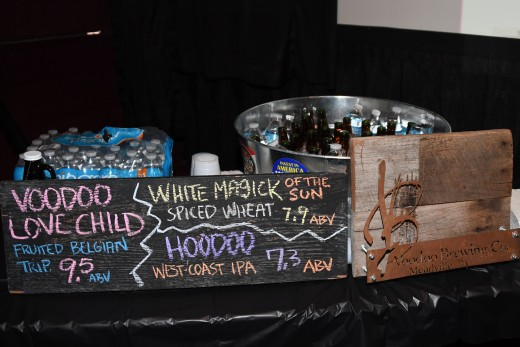 VooDoo Brewing Co. supplied the beverages for the Welcome Reception.