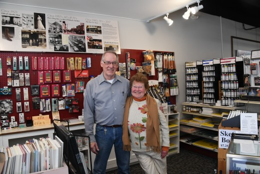 Tim and Mary Kirk of Meadville Fine Arts.