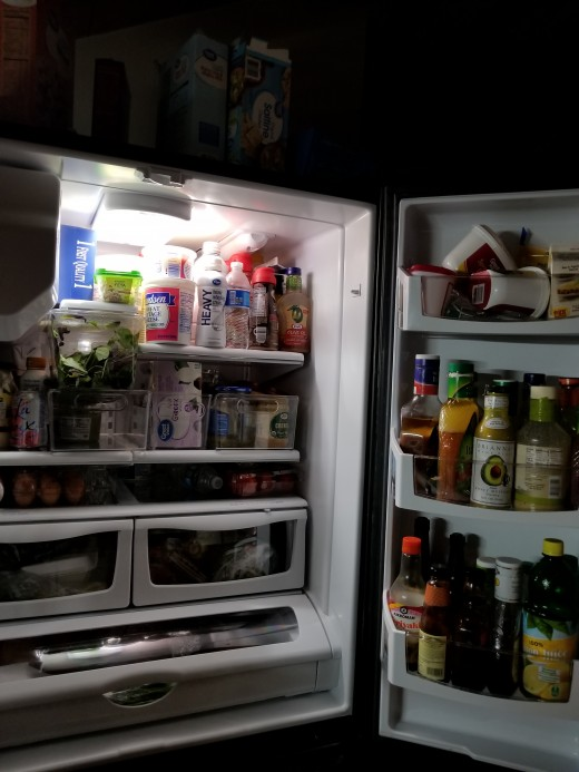 Food in the fridge - keep it, or toss it?  If in doubt, throw it out.