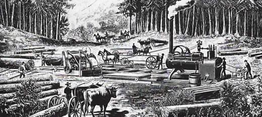 Steam Engine Mill
