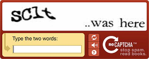 Another example of CAPTCHA
