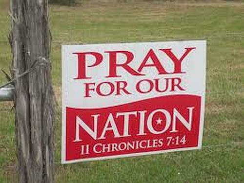 Pray for your nation.