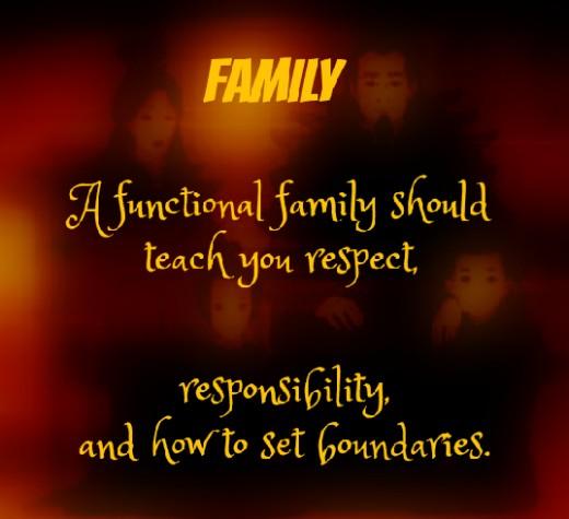 Respect. Responsibility. Boundaries.