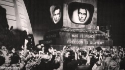 The Meaning of War is Peace, Freedom is Slavery, and Ignorance is Strength in Orwell's 1984