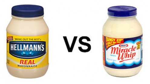 Mayonnaise or Miracle Whip: The Difference