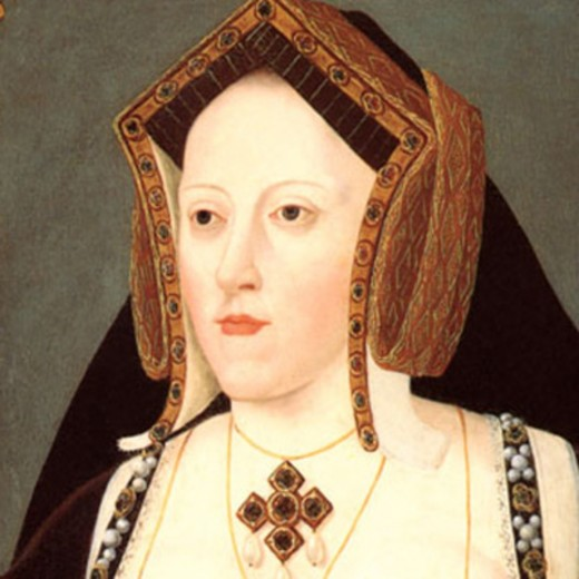 Catherine of Aragon, Mary's mother.