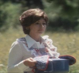Nanette Newman as a typical Stepford Wife.