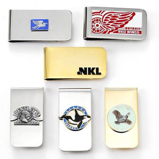 There are endless models and styles of money clips